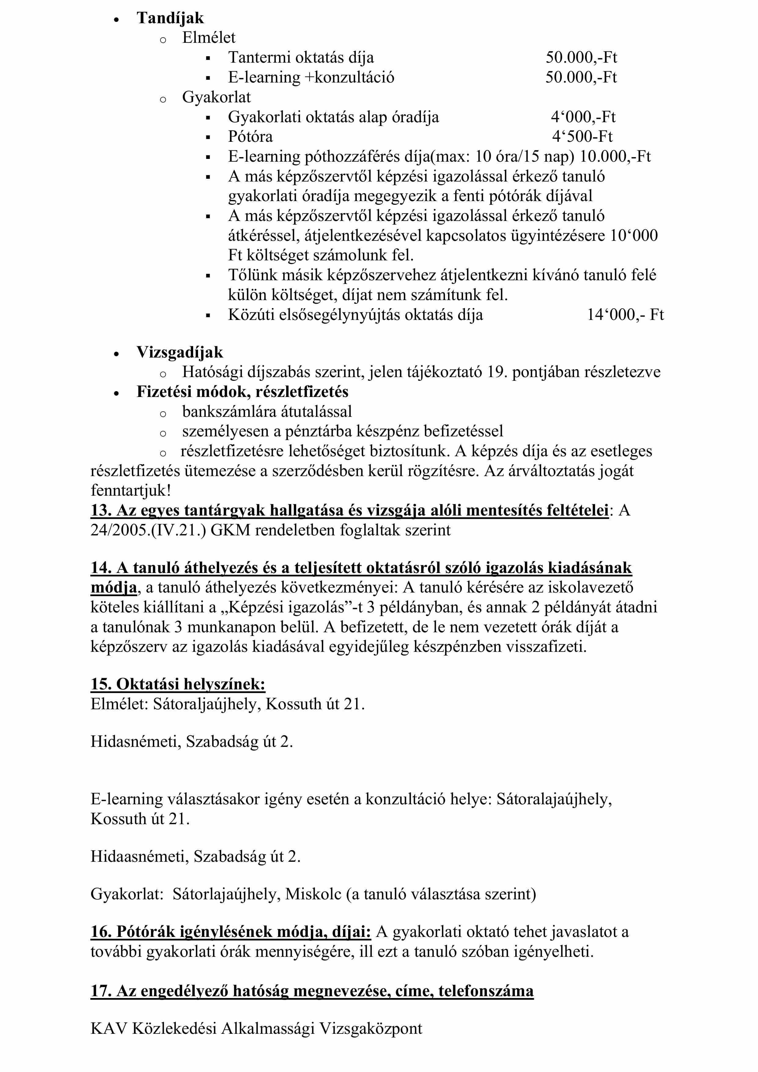 Tanulói tájékoztatóB kategória 20200701-4